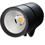 Figur 5. Reflektor i renaluminium för högsta glans. Armaturhus i kokillgjutet aluminium.