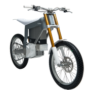 Figur 4. Eldriven offroadmotorcykel tillverkad med olika aluminiumtekniker.