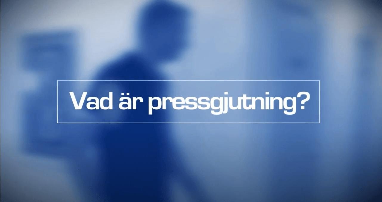 Vad är pressgjutning?